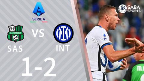 Sassuolo vs Inter Milan - vòng 7 Serie A 2021/22