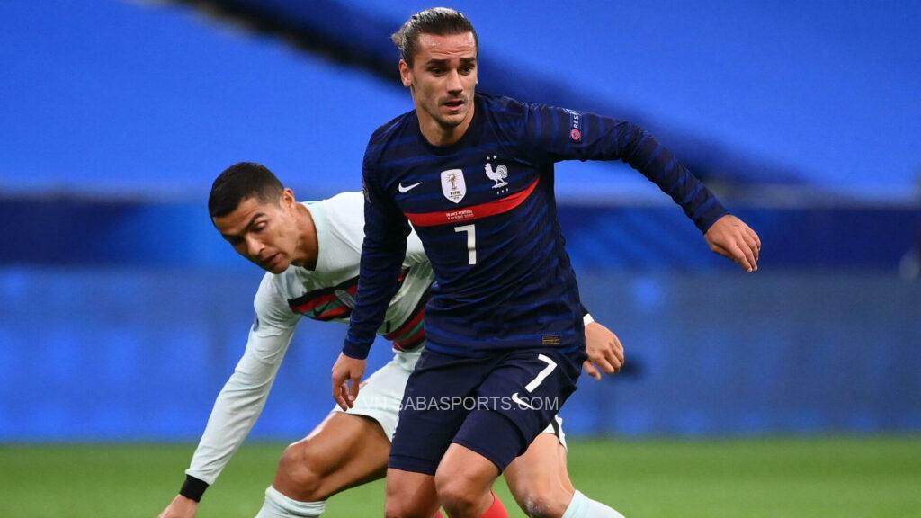 Pháp biến Bồ Đào Nha thành cựu vương Nations League. (Ảnh: Goal)
