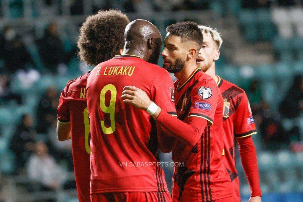 Bỉ thường vùi dập các đối thủ tại vòng loại. (Ảnh: Twitter)