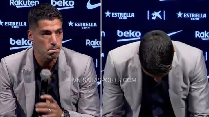 Suarez buộc phải chia tay Barca trong nước mắt
