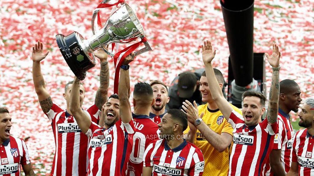 Suarez góp công lớn giúp Atletico vô địch La Liga mùa trước