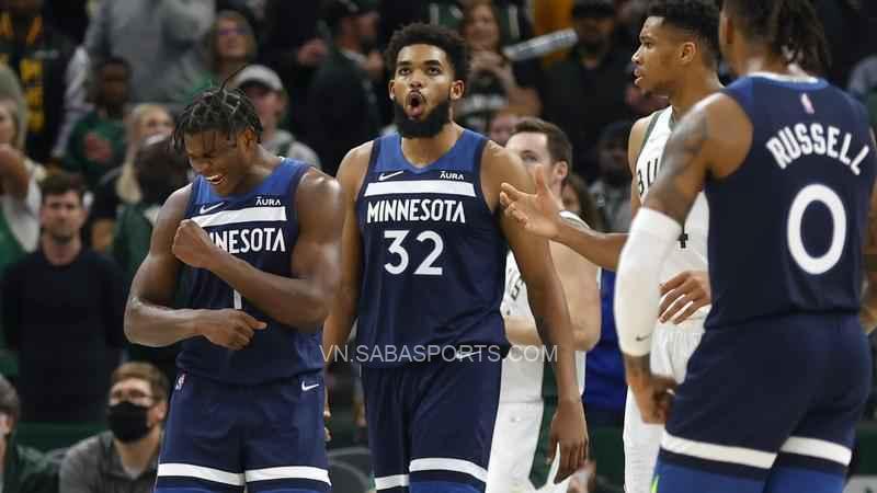 Timberwolves khởi đầu như mơ ở mùa giải mới