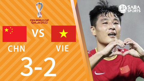 Trung Quốc vs Việt Nam - vòng loại World Cup 2022
