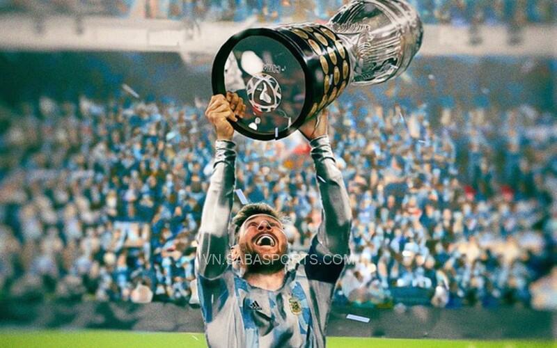 Messi được đánh giá cao nhất nhờ vinh quang tại Copa America