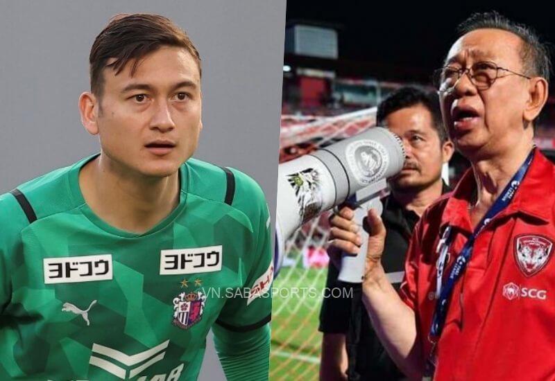 Văn Lâm được FIFA xử thắng kiện Muangthong Utd