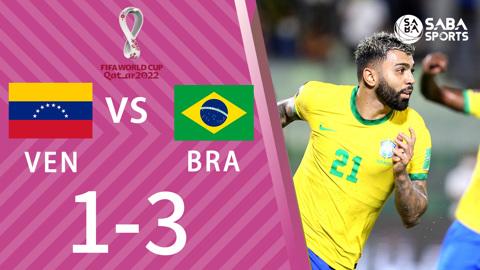 Venezuela vs Brazil - vòng loại World Cup 2022