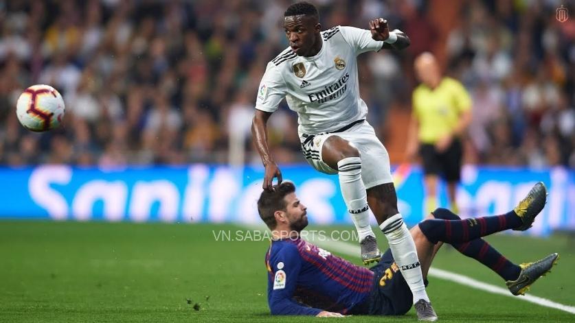 Pique tiết lộ Vinicius đã hứa gia nhập Barcelona