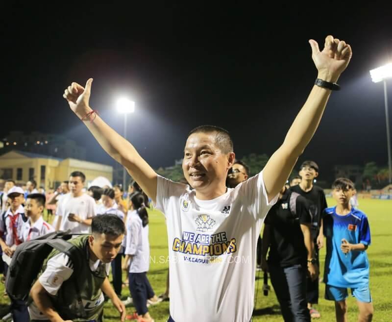 Chu Đình Nghiêm gắn với giai đoạn hoàng kim nhất của Hà Nội FC