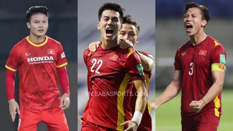 Quang Hải, Tiến Linh, Ngọc Hải là 3/5 cầu thủ được định giá cao nhất ĐTVN