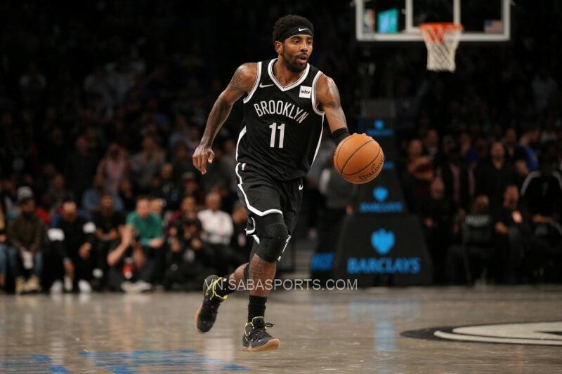 Irving thuộc top cầu thủ ném 3 giỏi nhất NBA và nhận lương hơn 35 triệu USD/mùa