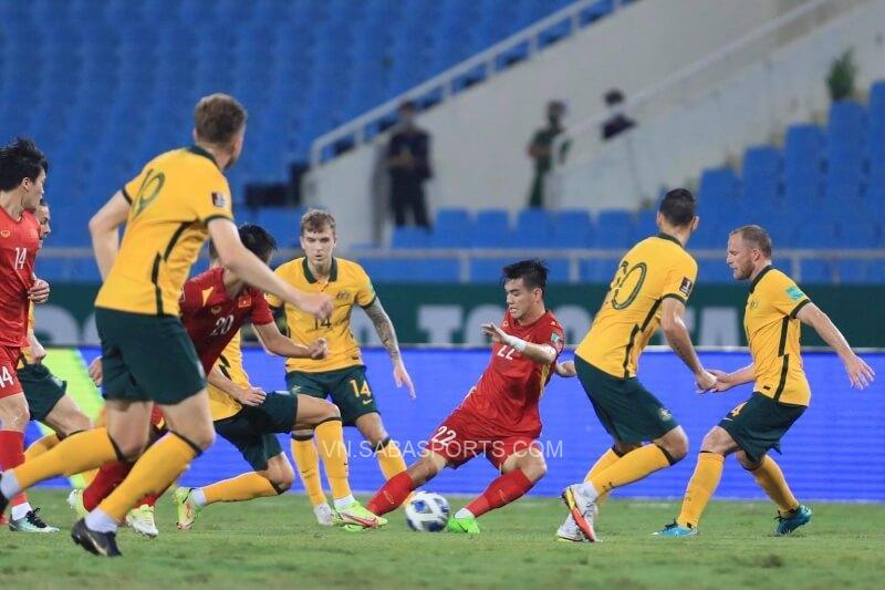 Trận đấu Việt Nam gặp Úc không đón khản giả