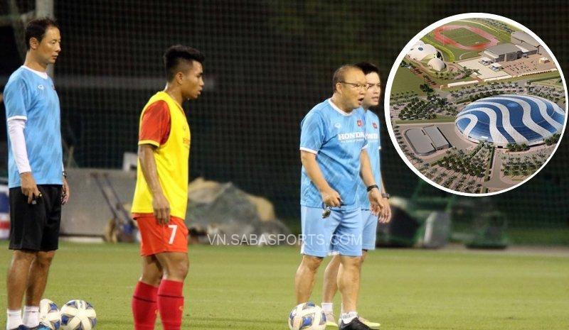 Thầy trò ông Park tập tại nơi Real, MU rèn quân