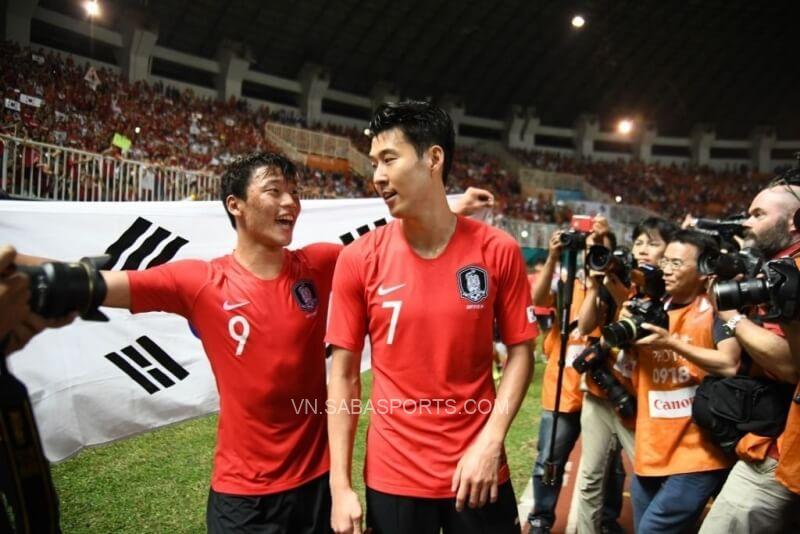 Dù sở hữu bộ đôi đang thi đấu ở Ngoại hạng Anh nhưng Hàn Quốc lại gặp khó trong việc ghi bàn